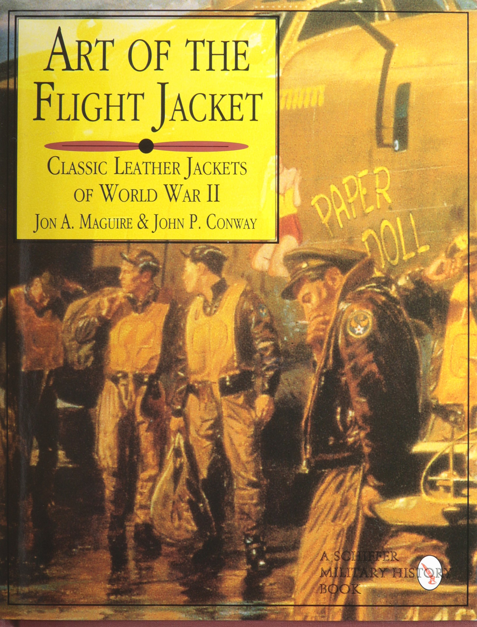 Art of the Flight Jacket: Classic Leather Jackets of World War II ...
