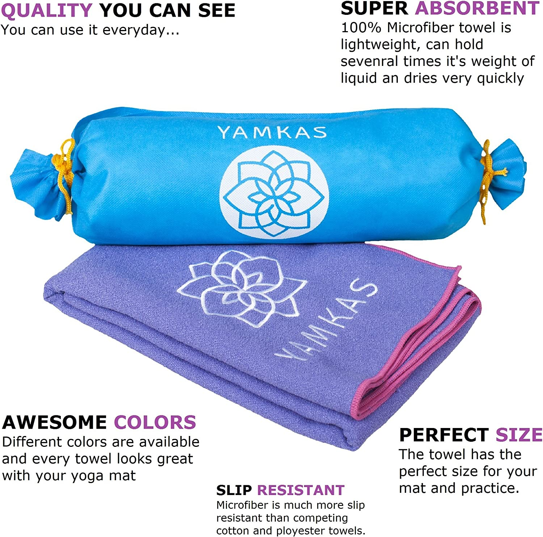 3 cm Manta Yoga Antideslizante y de Secado R/ápido IPOW Toalla de Microfibra Deporte 183 Toalla de Yoga Antideslizante Toalla Deportiva Toalla de Playa 61