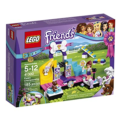 LEGO Friends Puppy Championship 41300 Popular Childrens Toy: Toys & Games