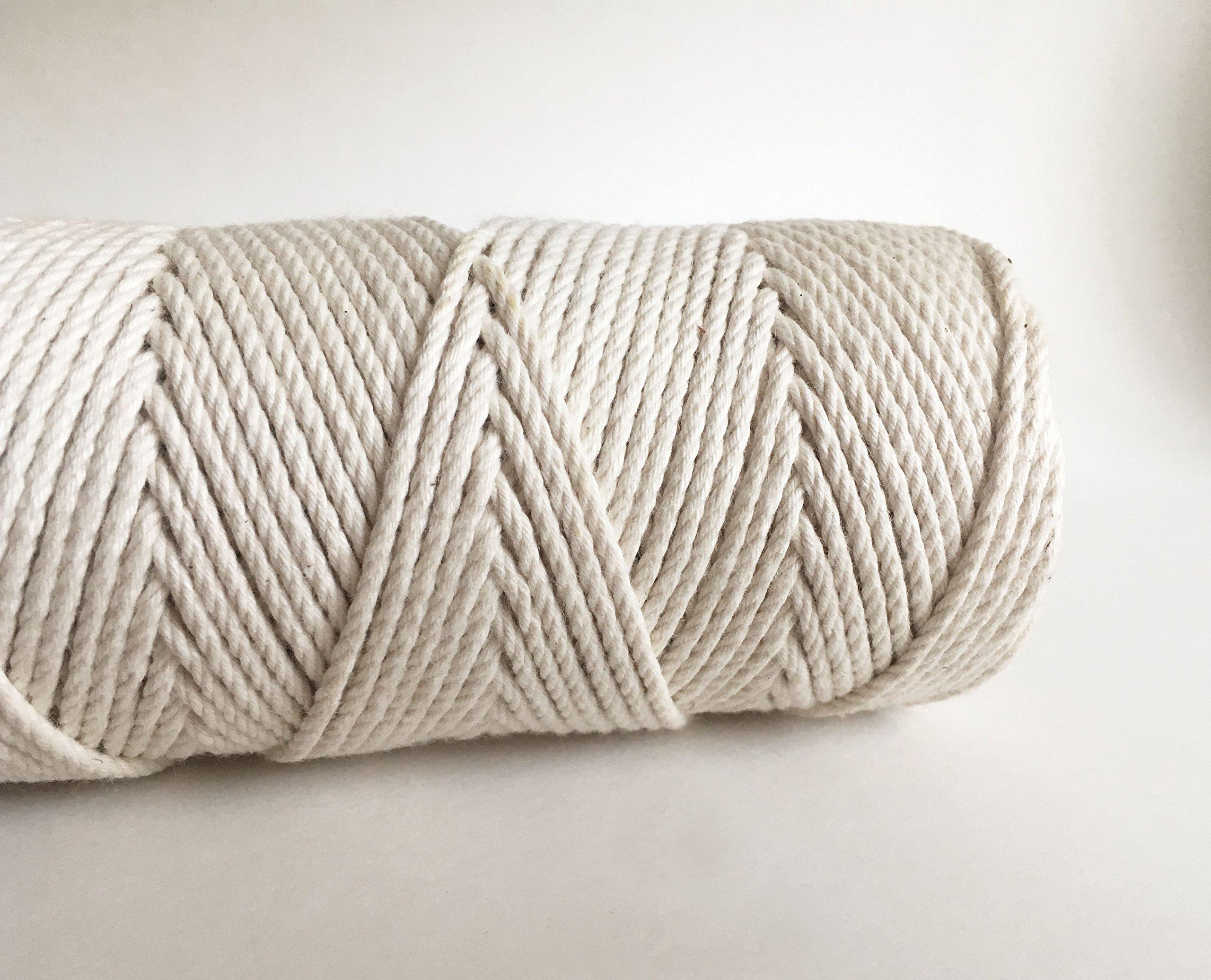 2mm Cotton Knotting Rope/3 Strand Macrame Cord