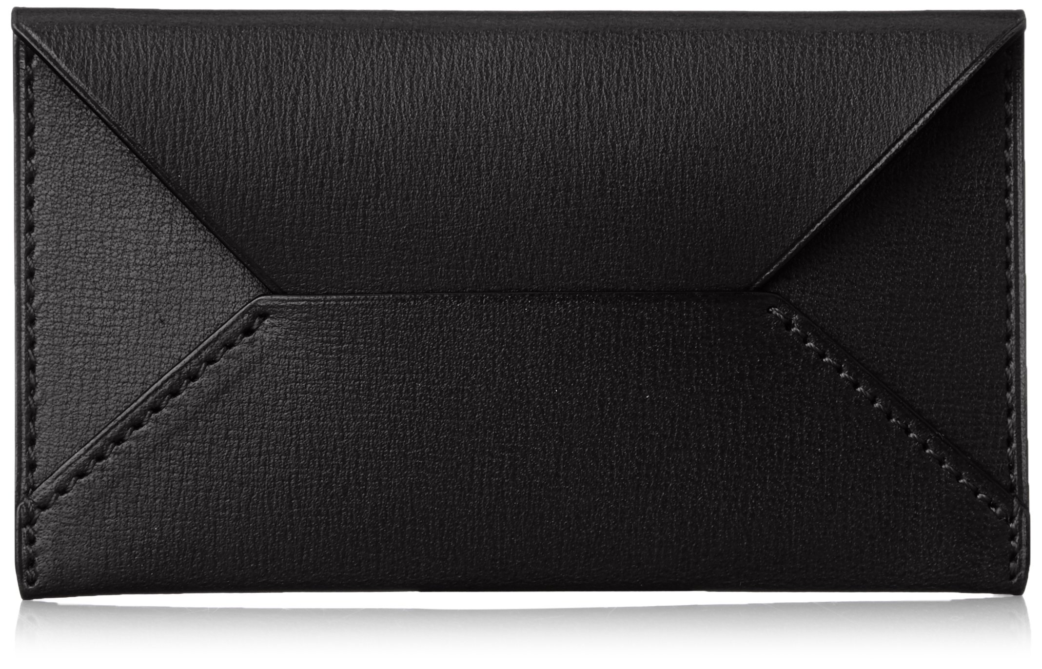 MAISON de HIROAN Leather Business Card Case Made in Japan 21539 Black by MAISON de HIROAN