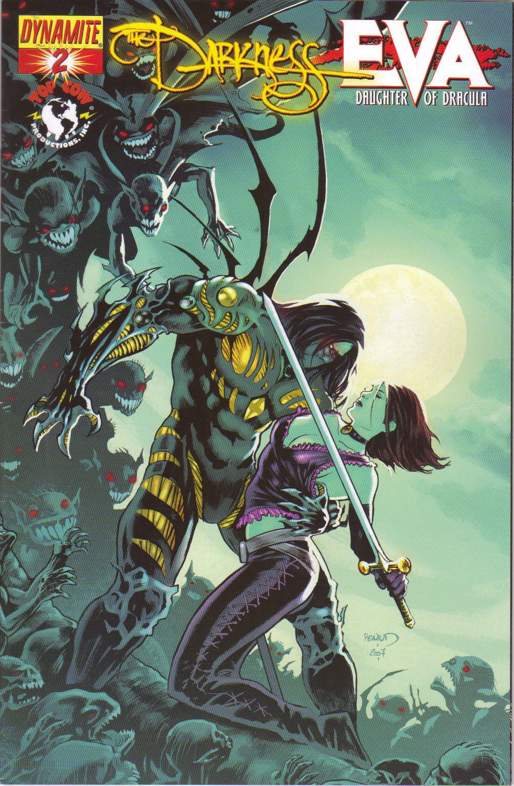 Read Online The Darkness #2 (The Darkness vs. Eva daughter of dracula, cover A) ebook