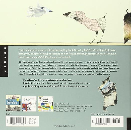 Amazon.com: Drawing and Painting Imaginary Animals A Mixed-Media ...