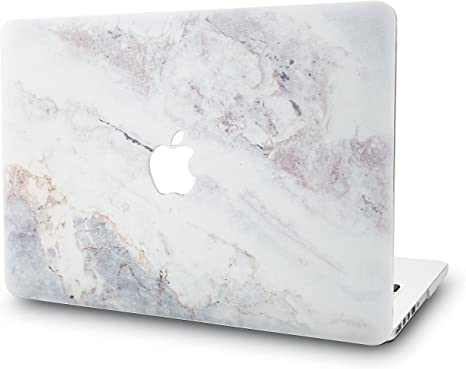 "KECC MacBook Air 13/"" Retina Custodia Case Rigida Cover Protettiva per MacBook Air 13.3 {A1932} Porpora 2020//2019//2018, Touch ID"