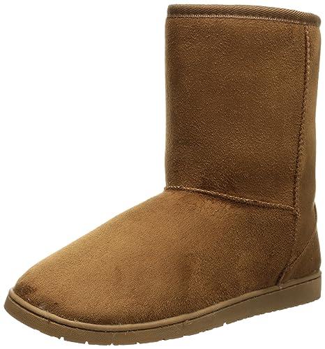 6b0926c6011 DAWGS Womens 9 Inch Faux Shearling Microfiber Vegan Winter Boots