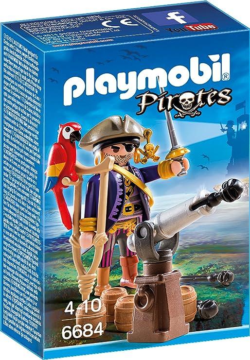 PLAYMOBIL - Capitán Pirata (66840): Amazon.es: Juguetes y juegos