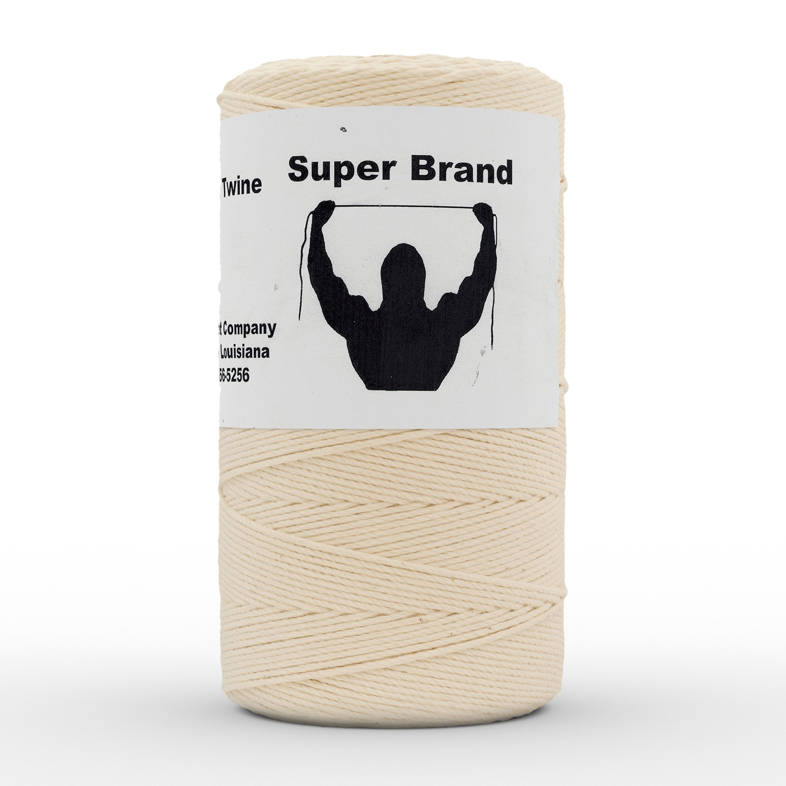 Cotton Twine, Twisted. Size #18, 1 lb 1-pack by Super Brand