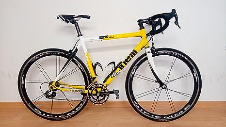 Cinelli - Bicicleta de carreras Campagnolo, rápida, 10V, medida 54/55