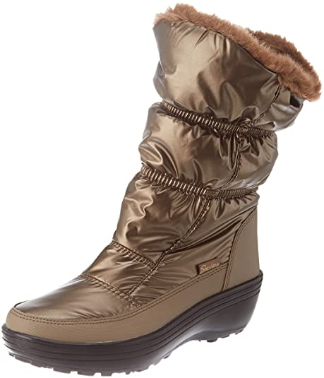 outlet store 6f074 64f34 Skechers Damen Alaska Stiefel, Schwarz, 38 EU