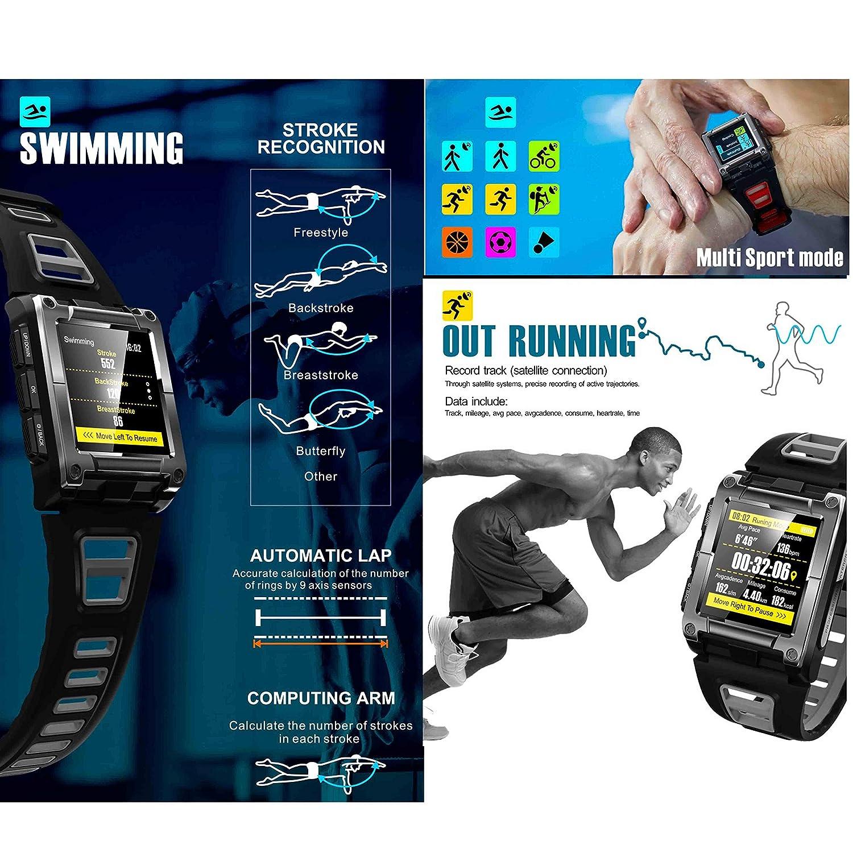reloj deportivo S929 Inteligente/Bluetooth Aire Libre/monitoreo de ECG/monitoreo de la presión Arterial/monitoreo del sueño/GPS: Amazon.es: Hogar