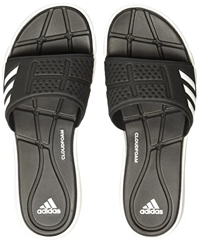 adidas Damen Adipure CF W Flip-Flops, Schwarz (Core Black/Footwear White/Core Black), 43 1/3 EU (9 UK)