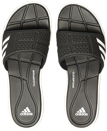 e482fed03c52 adidas Damen Adipure CF W Flip-Flops, Schwarz (Core Black Footwear White