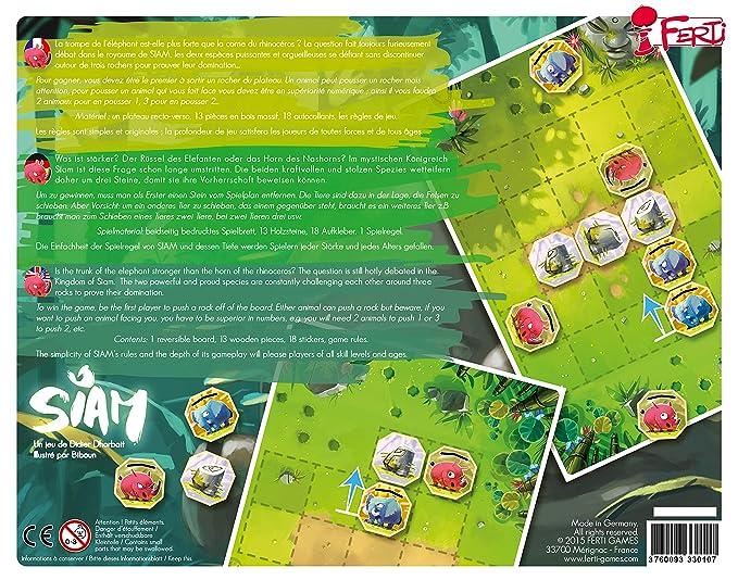 Amazon.com: Ferti – Siam: Toys & Games