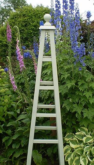 Etonnant Wooden Garden Obelisk