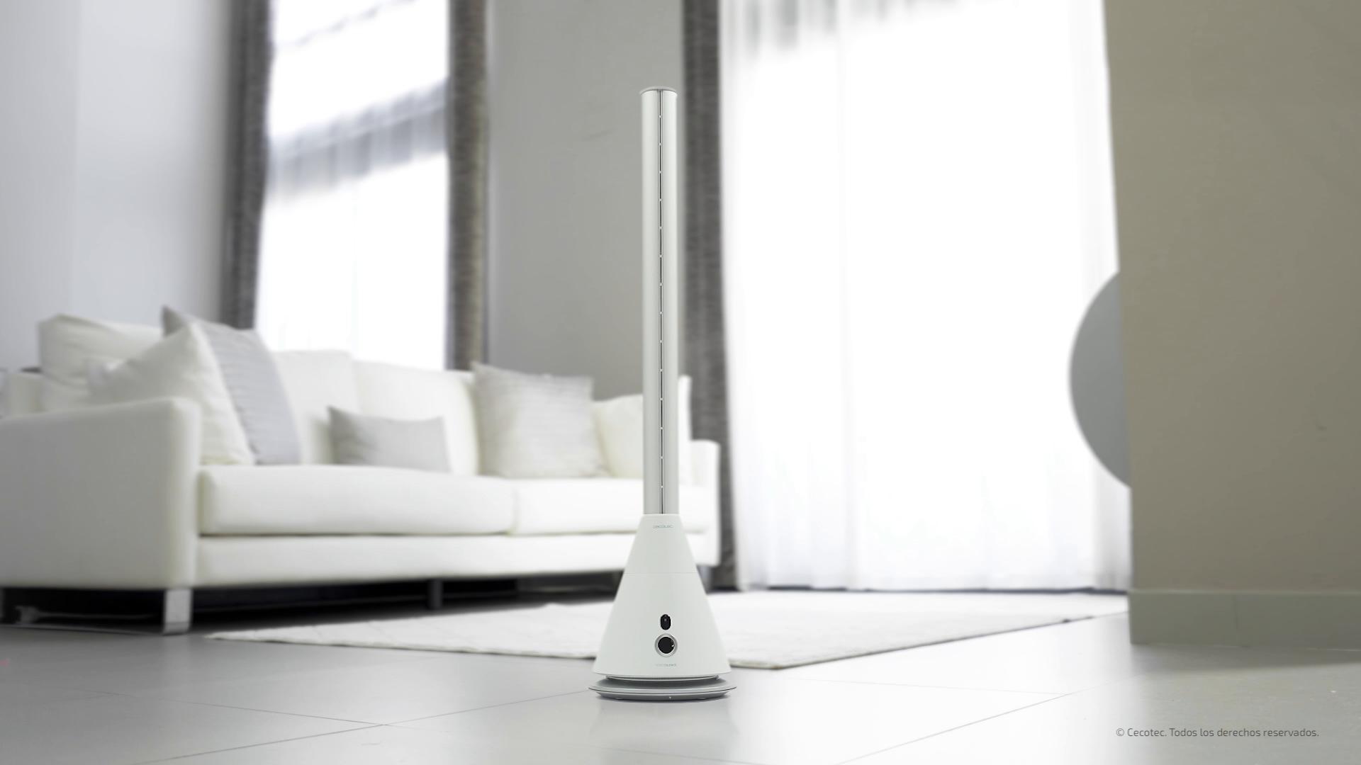 Cecotec Ventilador de Torre sin Aspas EnergySilence 9800 Skyline ...