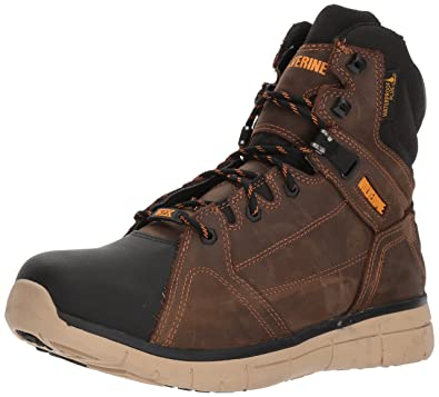 03eb198163a Wolverine Men's Rigger WPF Soft-Toe Mid Wedge Construction Boot