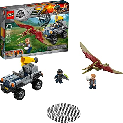 LEGO Jurassic World Pteranodon Chase 75926 Building Kit (126 Pieces)