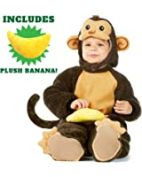 Baby Monkey Costume Deluxe Set by Spooktacular Creations