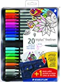 Staedtler writing pen and pencil case Porous Point (334 ZP20P NA)