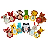 Amazon Price History for:Pearhead First Year Monthly Milestone Felt Animal Photo Sharing Baby Belly Stickers, 1-12 Months