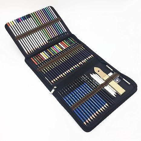 72 Kit Matite Colorate E Matite Da Disegno Per Disegnare E Libri Da