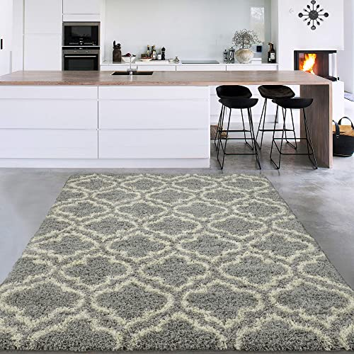 Sweet Home Stores Cozy Shag Collection Solid Shag Rug Contemporary Living Bedroom Soft Shaggy Area Rug