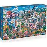 Amazon Com 1000 Piece Deluxe Jigsaw Puzzle At The