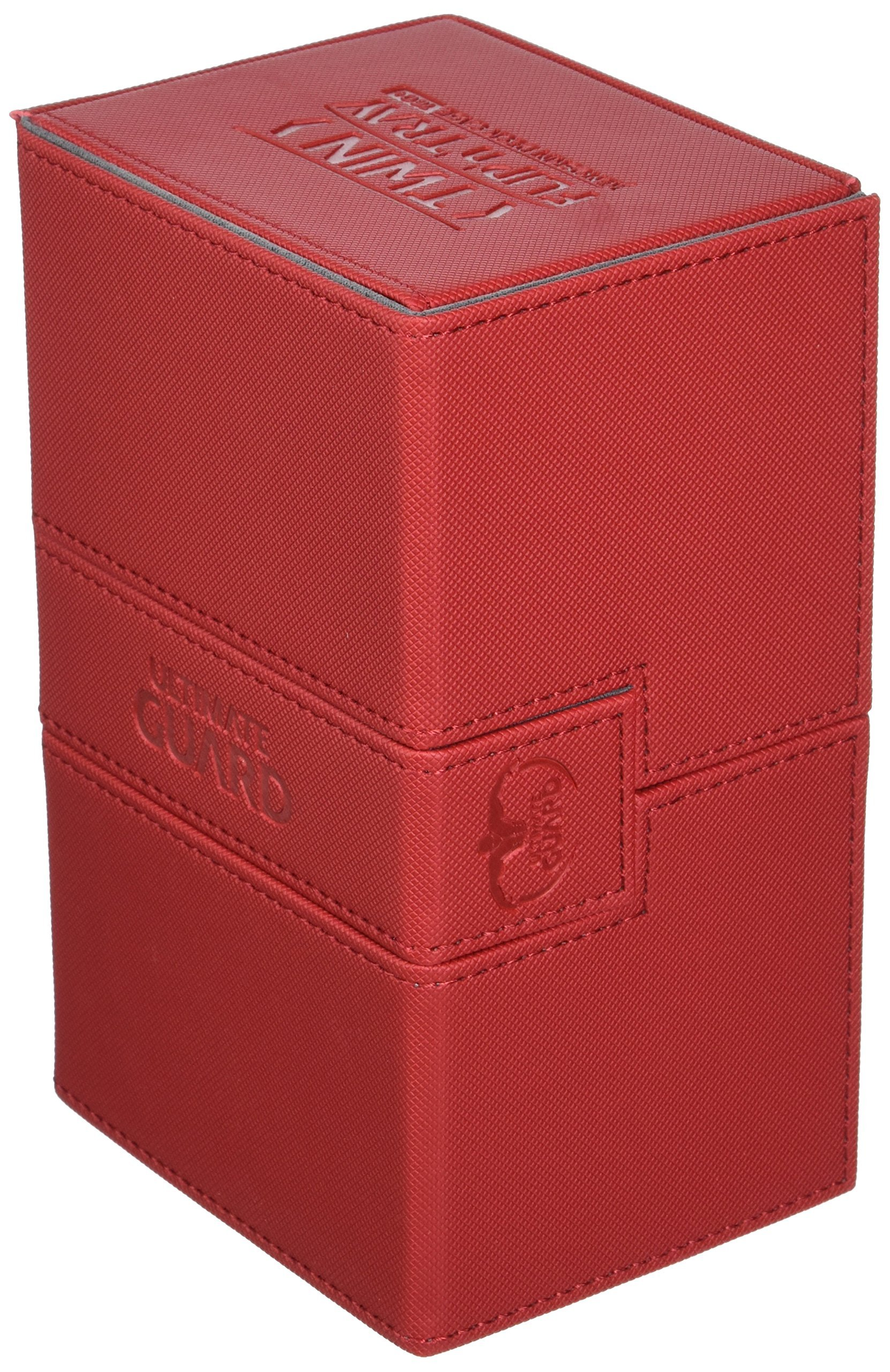 Deck Box: Twin Flip N Tray Xeno 160+ Card Game, Red by Ultimate Guard
