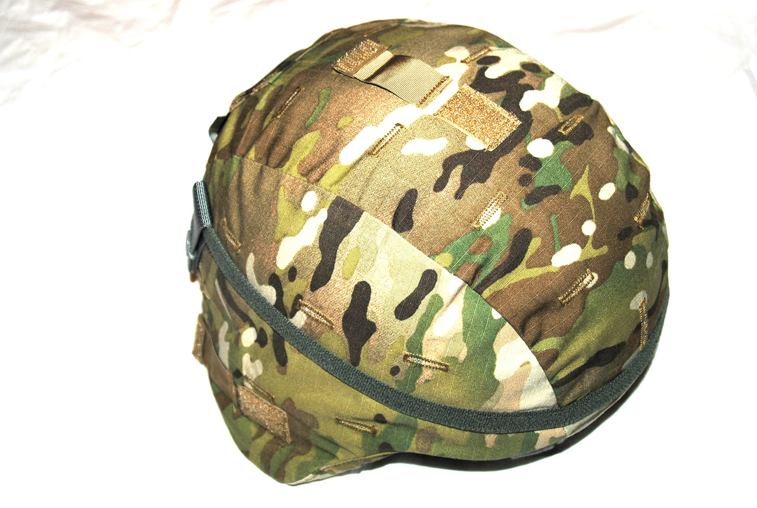 Genuine Us Military Ach Mich Helmet With Multicam Cover - Medium