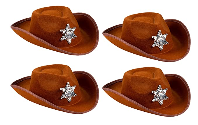 Image Unavailable. Image not available for. Color  Cowboy Sheriff s Hat Kids  ... fb61c7b05c5