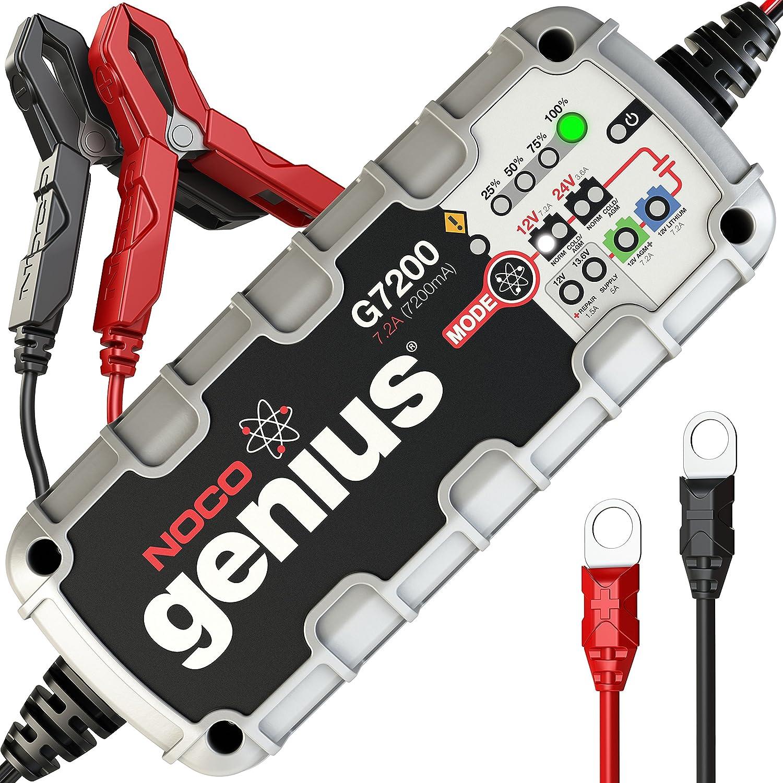 NOCO Genius G7200UK 12V/24V 7.2A Ultra-sicheres und intelligentes Ladegerä t The NOCO Company