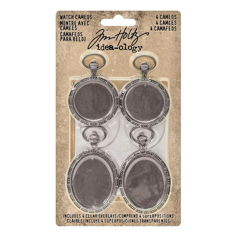 advantusidea-Ology Metal Reloj Cameos 1,25 x 5,08 cm y 1,5 Pulgadas x 2,5 Pulgadas - Antique Nickel: Amazon.es: Hogar