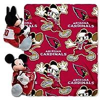 Northwest NFL Set de Almohada y Manta con diseño de Mickey Mouse y fútbol Americano