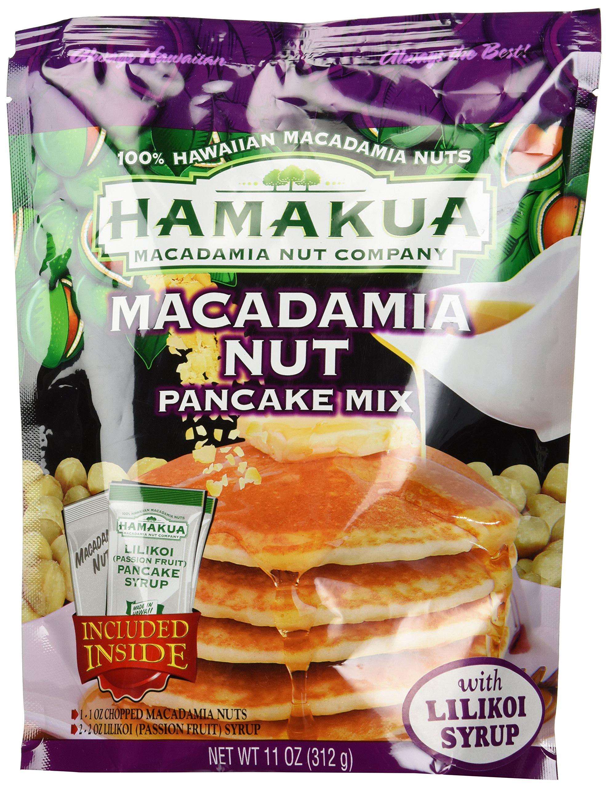 Hamakua Macadamia Nut with Lilikoi Syrup, 11 Ounce