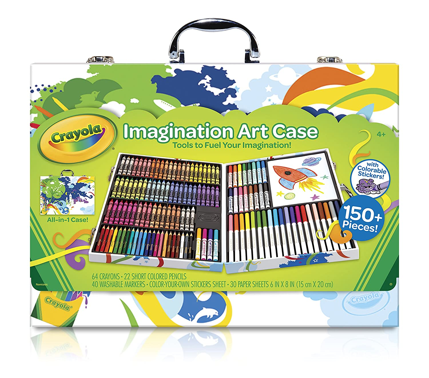 Amazon.com: Crayola Imagination Art Case (Amazon Exclusive): Toys ...