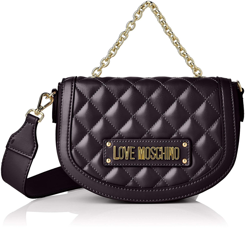 039b788d76 Amazon.com: Love Moschino Quilted Nappa Pu, Women's, Black (Nero), 15x10x15  cm (W x H L): Shoes