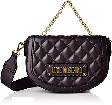 f73589a4a3d6 Amazon.com  Love Moschino Quilted Nappa Pu