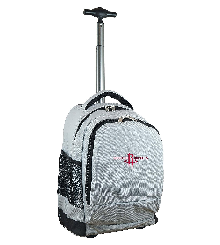 NBA Houston Rockets Expedition Wheeled Backpack, 48cm , Grey   B01MFFQ3W7