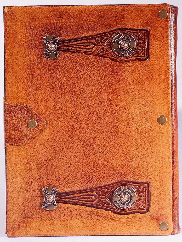 """Vintage Notizbuch aus LederEdition Artis Magica /""""Schlüsselloch/""""Handarbeit"""