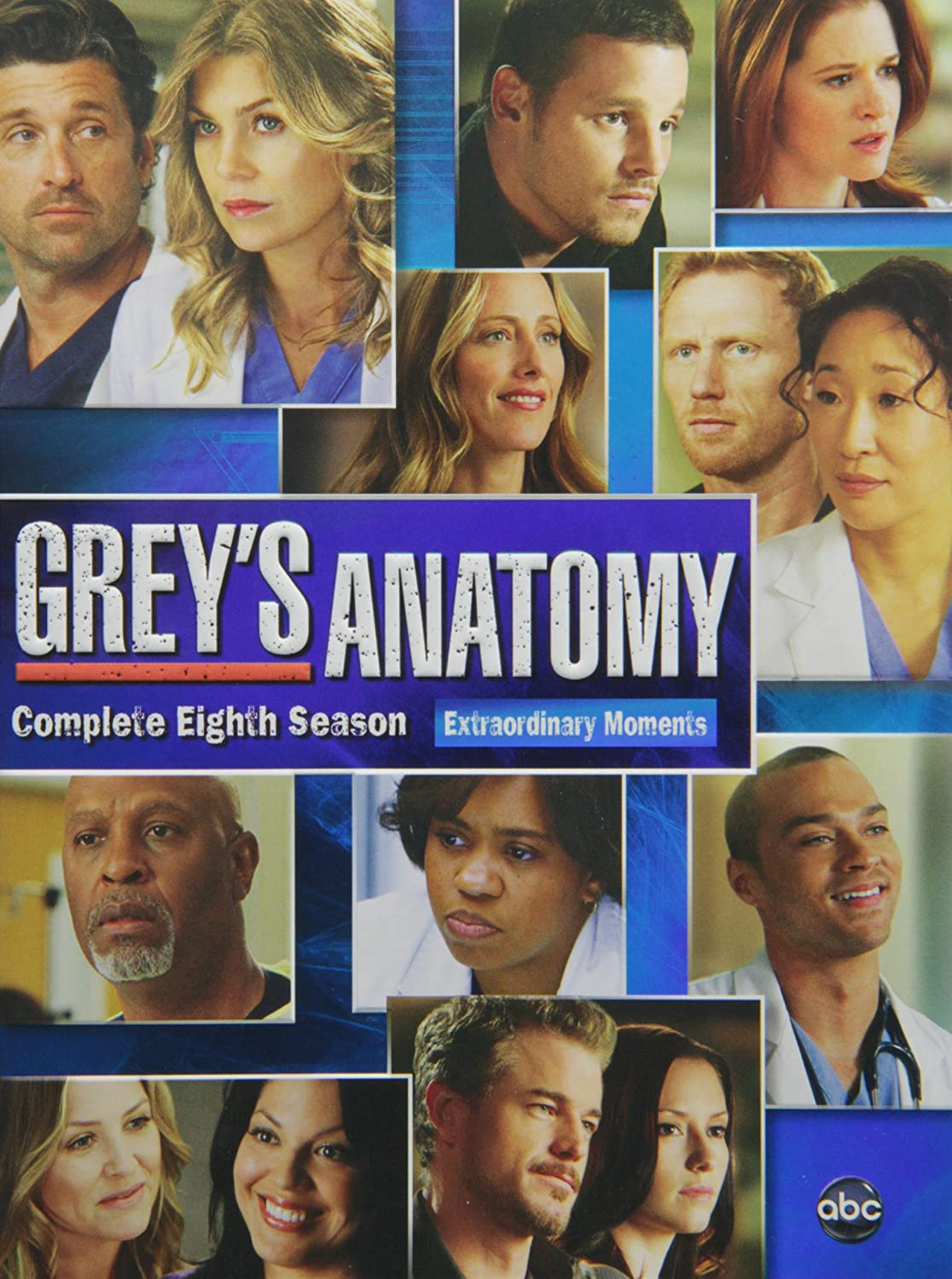 Amazon.com: Grey\'s Anatomy: Season 8: Patrick Dempsey, Justin ...