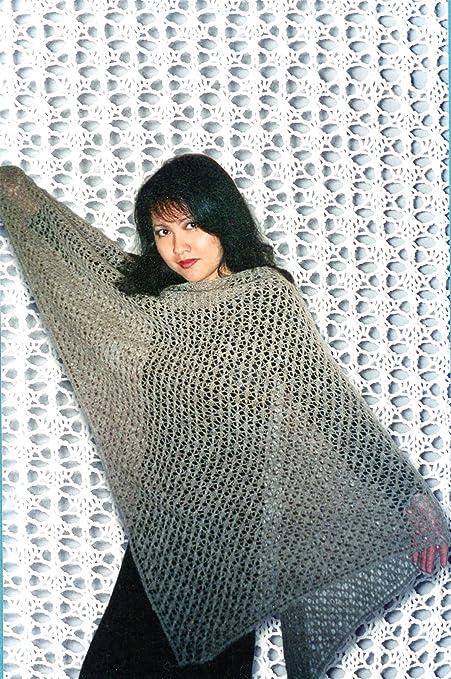 Amazon Charlottes Easy Lace Shawl Fiber Trends Knitting