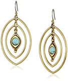 Amazon Price History for:Lucky Brand Turquoise Double Oval Earrings