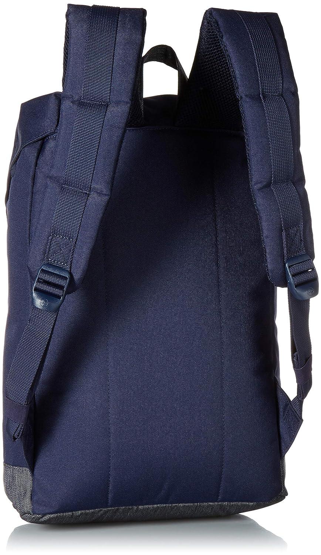 9bed22d8fa0 Herschel Offset Retreat Mid-Volume Backpack 13  dark blue  Amazon.co.uk   Shoes   Bags