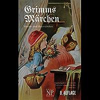 Grimms Märchen - Vollständige, überarbeitete und illustrierte Ausgabe (HD): Mit hochauflösenden, vollfarbigen Bildern (Märchen bei Null Papier) (German Edition)