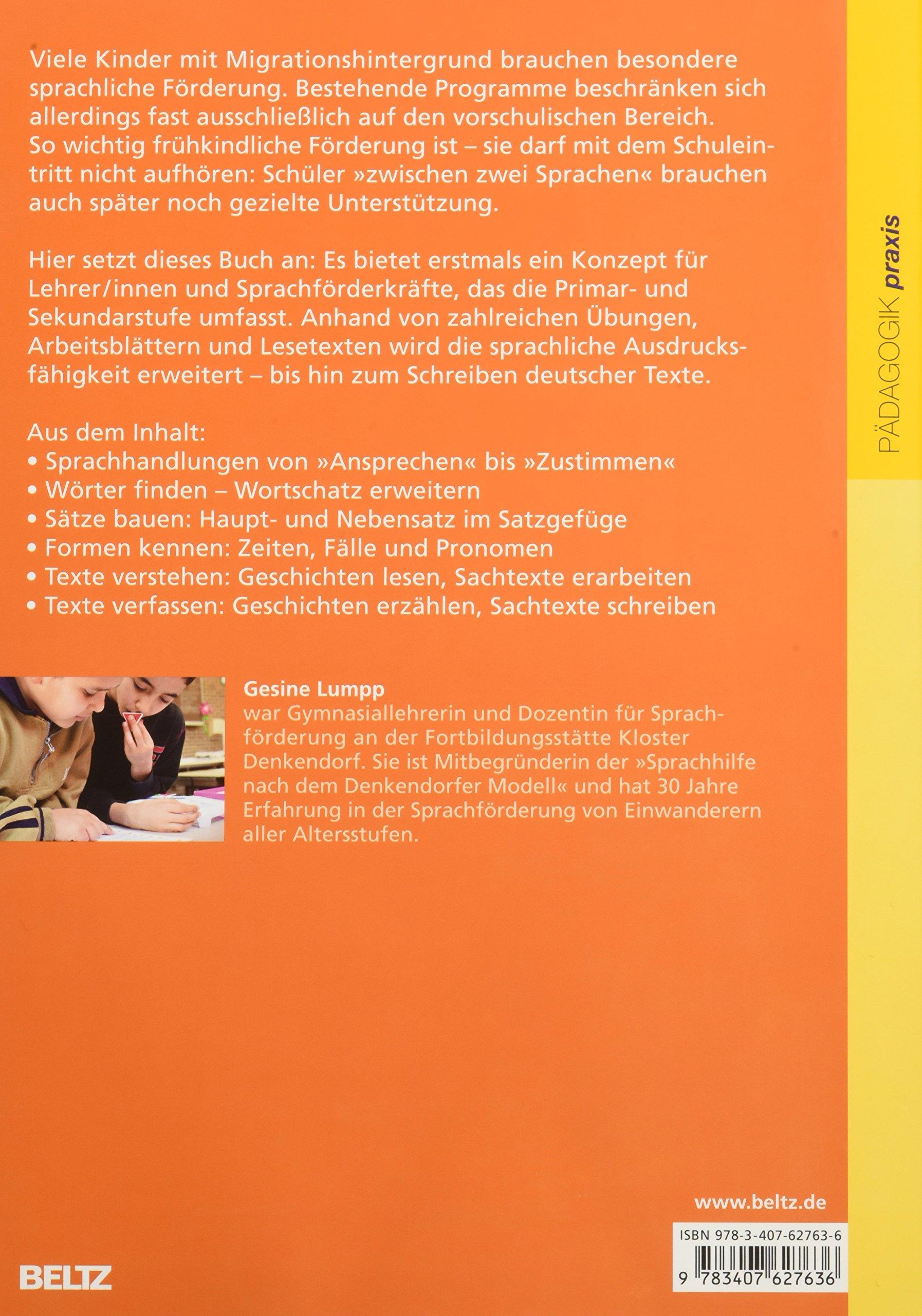 Richtig Deutsch lernen: Sprachförderung für Schüler mit ...