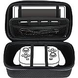 Subsonic - Malette de rangement rigide et anti-choc pour Nintendo Switch - Etui de rangement zippé en EVA pour la console Nintendo Switch et ses accessoires - NOIR