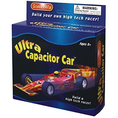Science Wiz - Ultra Capacitor Car Activity Kit: Toys & Games