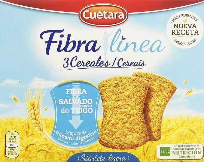 Fibra Línea - 3 Cereales - Fibra de salvado de trigo - 500 g - [