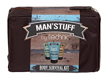 9ea9e1e5c34f Technic Man'stuff Wash Bag Bath and Body Gift Set