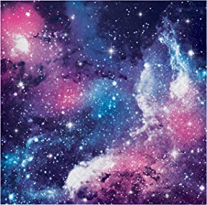 Galaxy Party Beverage Napkins, 48 ct